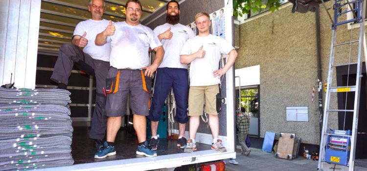 Team von Eichenseer Umzüge