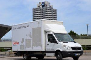 Umzugsfirme München - Transporter