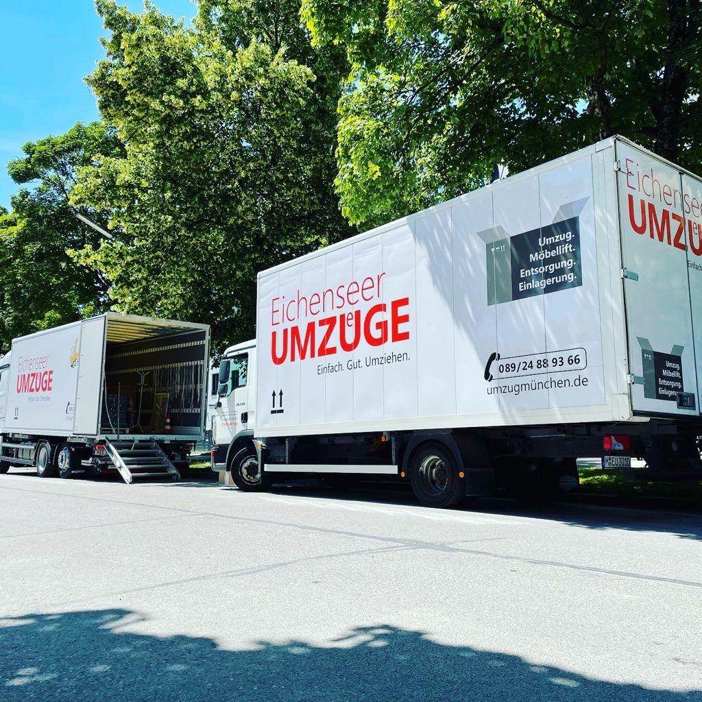 Umzug mit dem Umzugsunternehmen in München