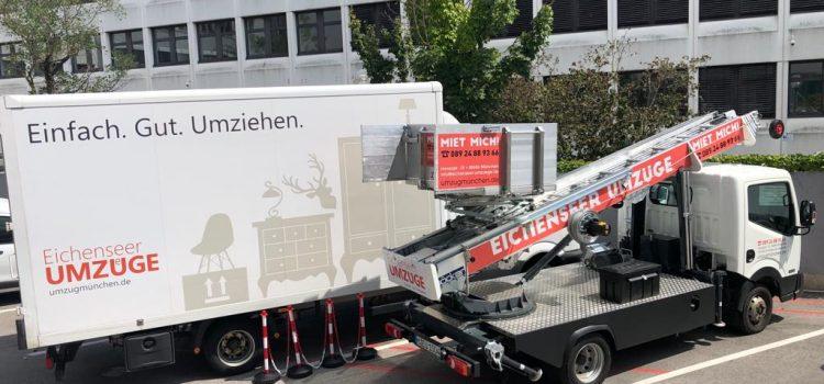 Ihr Profiumzug in München